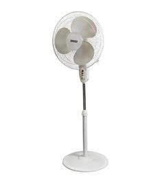 Usha Mist Air Ex White Plastic 3 Blades Pedestal Fan