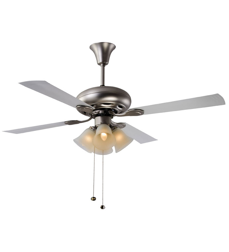 Usha Fontana Orchid Gold Ivory Ceiling Fan with Light  available at Pepperfry for Rs.5659