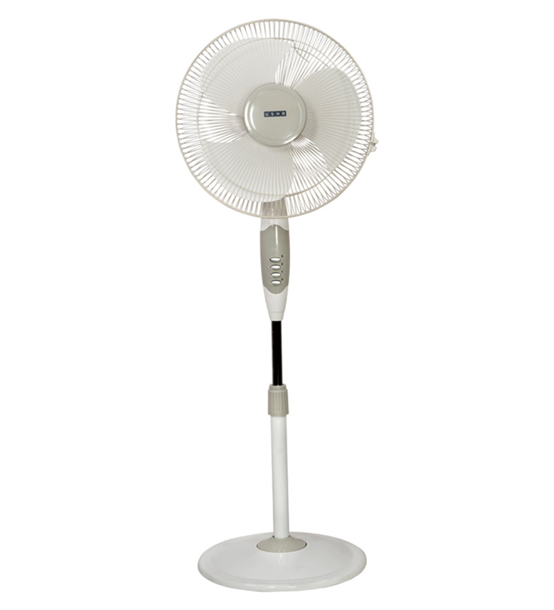 Usha Helix High Speed White 3 Blades Pedestal Fan  available at Pepperfry for Rs.2969