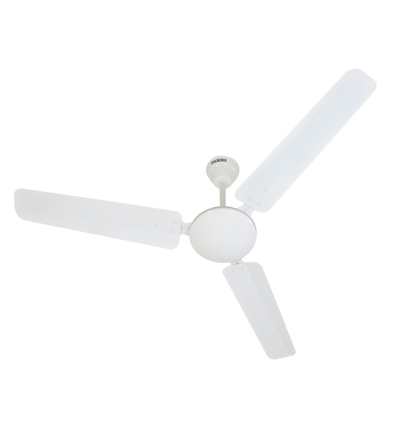 Usha Technix White Metal 3 Blades Energy Saver Ceiling Fan  available at Pepperfry for Rs.1879