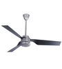 Usha Cabo Frio Antique Black Chrome Ceiling Fan