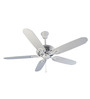 Usha Hunter Savoy White Ceiling Fan with Five Blades