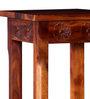 Asava Bar Stool in Honey Oak Finish by Mudramark
