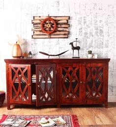 Fife Sideboard In Honey Oak Finish By Woodsworth