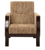 Valencia One Seater Seater Sofa in Brown Coolour by ARRA