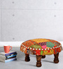 Valkala Stool with Patchwork by Mudramark