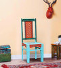 Vanya Hand Painted Dining Chair by Mudramark