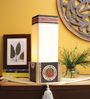 VarEesha Beige Fabric Table Lamp
