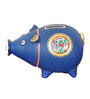 VarEesha Blue Terracotta Handcrafted Coin Bank Showpiece