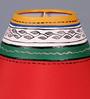 VarEesha Red Fabric Lamp Shade