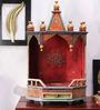 Vareesha Wooden Jaipuri Hand Painted Temple