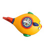 VarEesha Yellow Terracotta Fish Handcrafted Accessory Box Showpiece