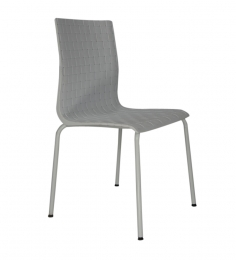 Simplistic White Dining Chair by Ventura