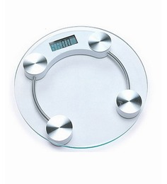 Venus Silver Glass Electronic & Digital Bathroom Scale