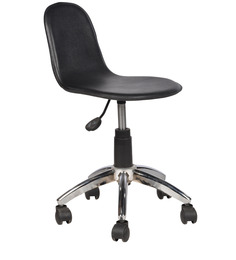 Office Chair in Black Colour by Chromecraft