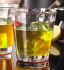 Velik Friends Bricks Premium Glass 315ML Whisky Glass - Set of 6