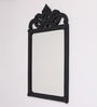 Consett Decorative Mirror in Black by Amberville