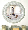 Curzon Decorative Mirror in Multicolour by Amberville