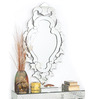 Barryl Decorative Mirror in Silver by Amberville