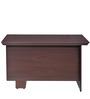 Vento Three Drawer Study Table in Mahogany Finish by Nilkamal