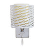 Venus Wall Light in White & Yellow by CasaCraft
