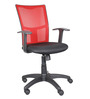 Vertex Series B Mid Back Office Chair in Red Colour by BlueBell Ergonomics