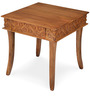 Vesta Square Side Table in Natural Colour by @home