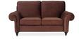 Vienna Two Seater Sofa in Brown Colour by Urban Living