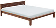 Visaya Handcrafted Queen Size Bed in Provincial Teak Finish by Mudramark