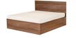 Viva King Bed with Storage in Cincinnati Walnut Finish by Godrej Interio