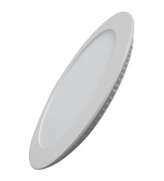 Victory Lighting 6W LED Panel Light Round Recessed 4200K- Day Light -Pack of 1