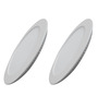 Victory Lighting 6W LED Panel Light Round Recessed 4200K- Day Light -Pack of 2