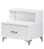 Vienna Night Stand in White Colour by @home