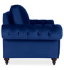 Vienna One Seater Sofa in Blue Colour by Urban Living