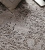 Vikram Carpets Grey Viscose 96 x 60 Inch Hand Tufted Carpet