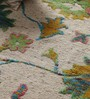 Vikram Carpets Multicolour Wool & Silk 96 x 68 Inch Hand Knotted Carpet