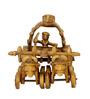 Villcart Brass Bullock Cart Showpiece
