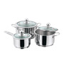 Vinod Cookware 3Pc Induction Friendly Tuscany Collection