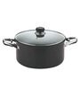 Vinod Cookware Hard Anodized 5000 ML Sauce Pot