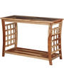 Raliegh Console Table in Natural Finish by Woodsworth