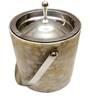 Virgin Craft Stainless Steel Marble Granite Finish 1500 ML Ice Bucket