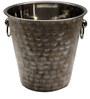 Virgin Craft Stainless Steel Marble Granite Finish Champagne Bucket