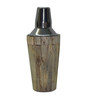 Virgin Craft Stainless Steel Wood Crafted Cocktail Shaker