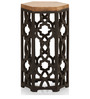 Visalia Side Table in Dual Tone by The ArmChair