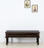 Visikha Bench in Warm Chestnut Finish by Mudramark