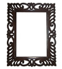 Viso Brown Teak Wood Classiq Decorative Mirror Frame