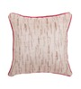 Vista Beige Polyester 16 x 16 Inch Cushion Cover