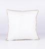 Vista Home Fashion Beige Cotton 18 x 18 Inch Cushion Cover