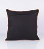 Vista Home Fashion Orange & Yellow Cotton 18 x 18 Inch Cushion Cover