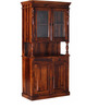 Clifton Hutch Cabinet in Honey Oak Finish by Amberville